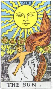 19 солце научиться гадать на картах таро- обучение в школе таро - магия - карты гадательные (13)